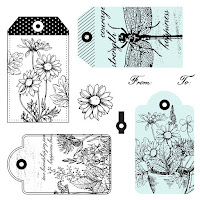 CTMH June Stamp Of The Month - Garden Tags