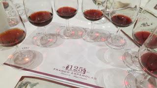 Rioja Bordón Gran Reserva Vertical Wine Tasting