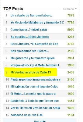 Mi Verdad acerca de Calle 13