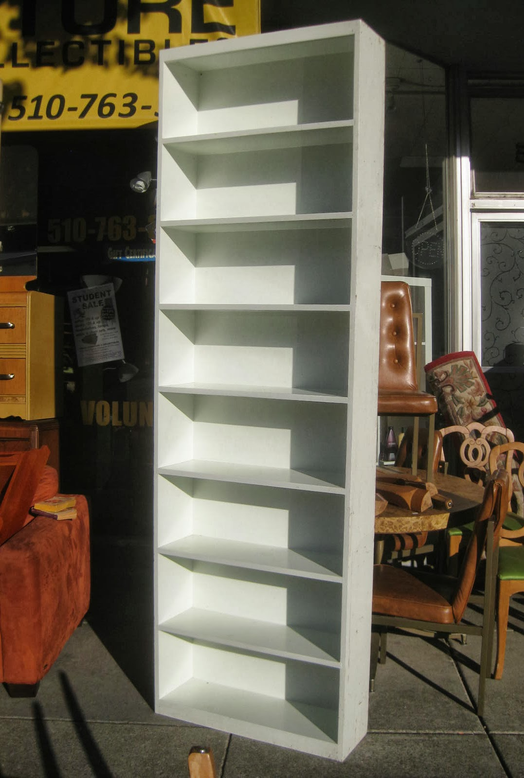 #A88723 Tall White Shelves: Painted Tall Narrow Bookcase. Tall Narrow Bookcase  with 1077x1600 px of Best 8 Foot Tall Bookcases 16001077 image @ avoidforclosure.info
