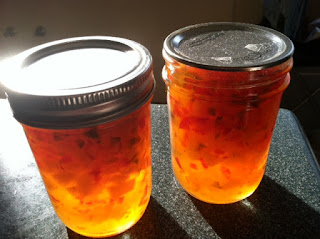 canning red pepper jelly