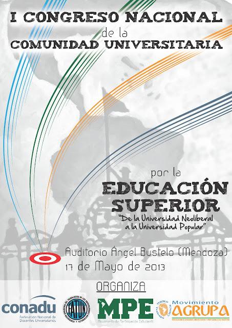 """Congreso Nacional de la Comunidad Universitaria: """"Construyendo la Universidad Popular"""""""
