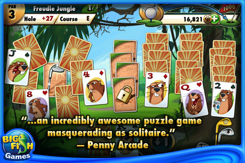 Fairway Solitaire by Big Fish screenshot