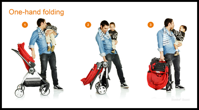 convenient stroller for busy moms