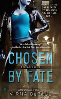 Post thumbnail of Review: Chosen By Fate, by Virna DePaul