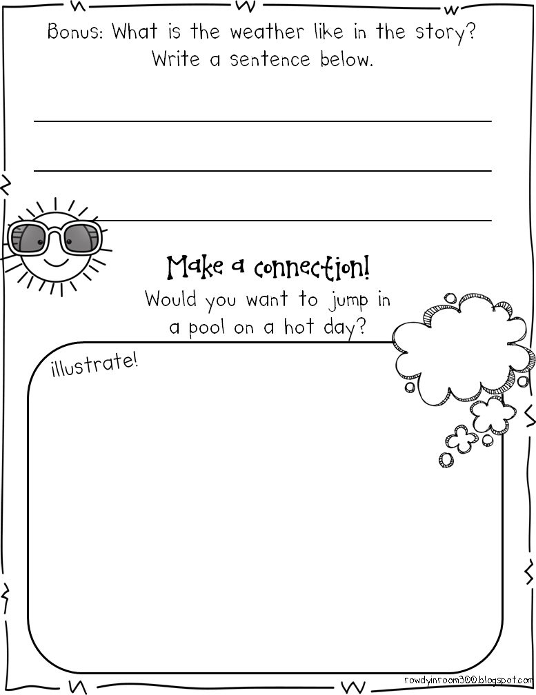 http://www.teacherspayteachers.com/Product/Almost-Summer-Comprehension-for-Kinders-1234890