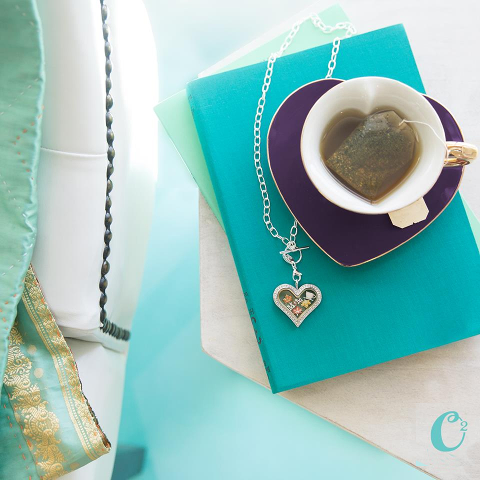 Origami Owl Heart Locket Full of Love from StoriedCharms.com