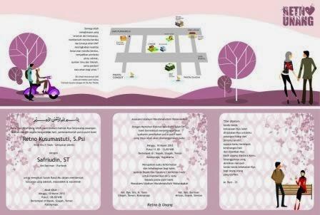 Undangan Violet Cartoon Mode