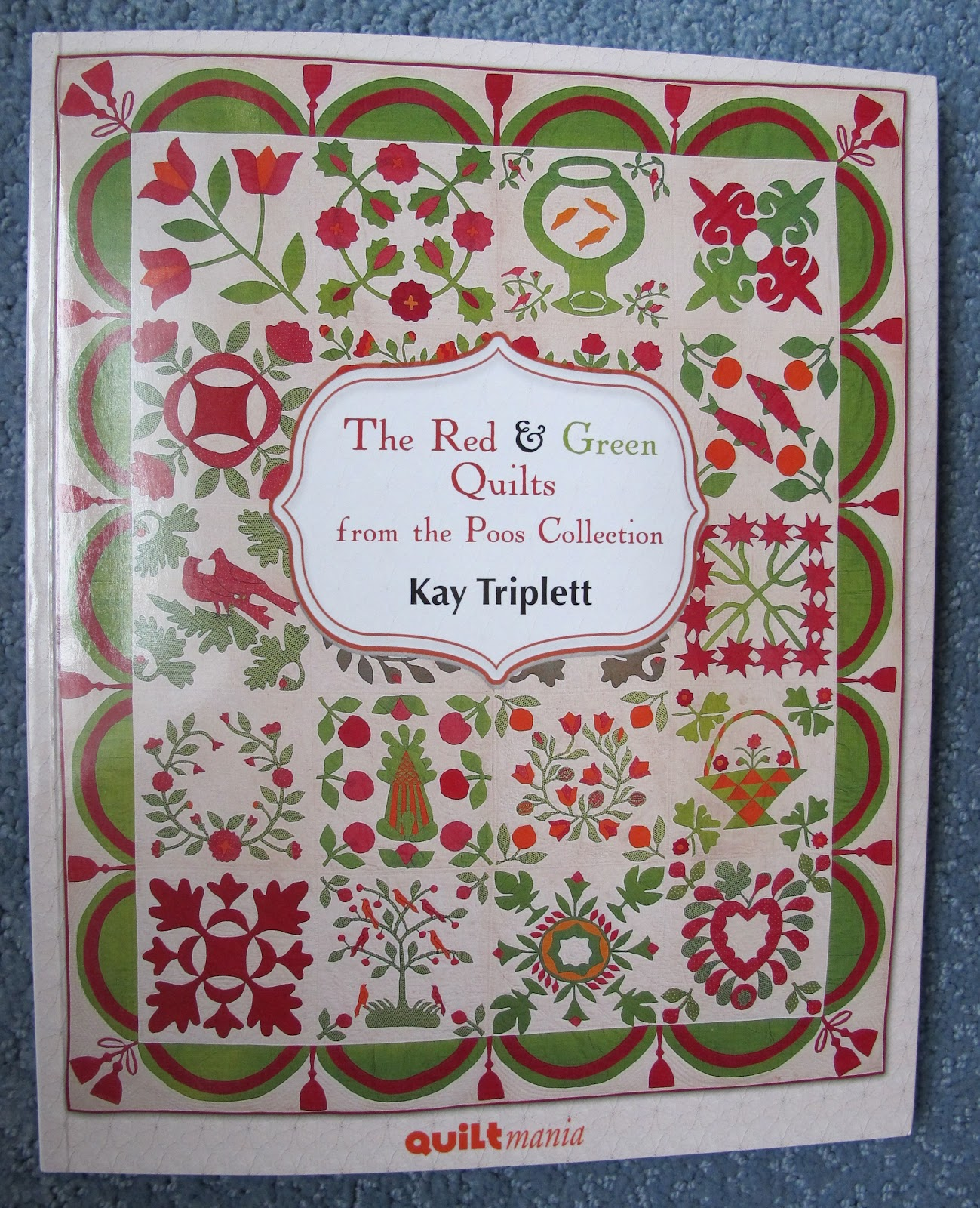 Baltimore Garden Quilts: The Red and Green Poos Collection - Book ... : red and green quilts - Adamdwight.com