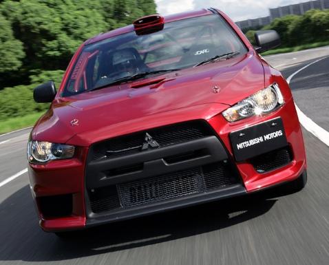 Mitsubishi evolution 10 The