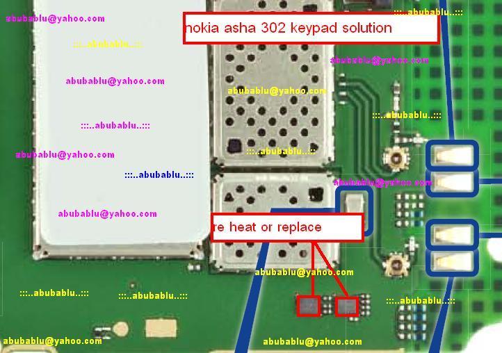 Nokia Asha 302 Keypad Not Working Problem