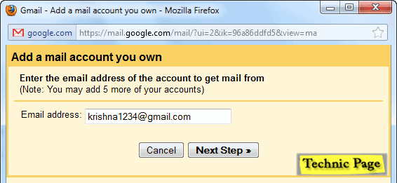 add a email account