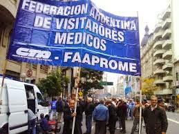 Visitadores Médicos adhieren a la Jornada Nacional de Lucha de la CTA Autónoma el 20 de Noviembre