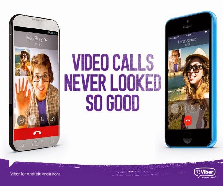 تطبيق الفايبر (viber) يتيح المكالمات بالفيديو على الأندرويد و ios بداية 2015