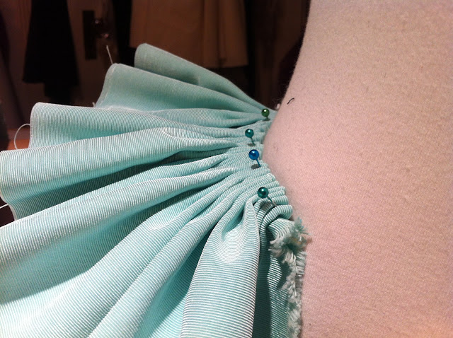 pleating sample