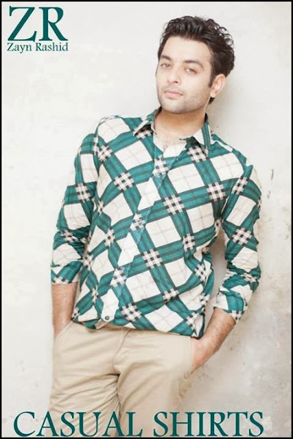 Zayn-Rashid Pakistani Designer Casual Shirts, Off Road Style Shirts
