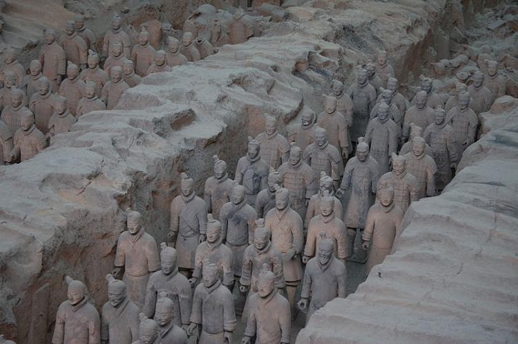 Qin Dynasty War in Terracotta on Display