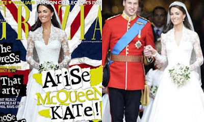grazia magazine kate middleton photoshoped picture