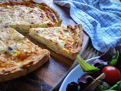 Chicken, Sweetcorn and Red Pepper Quiche