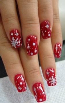 christmas goodness fun christmas nail art ideas