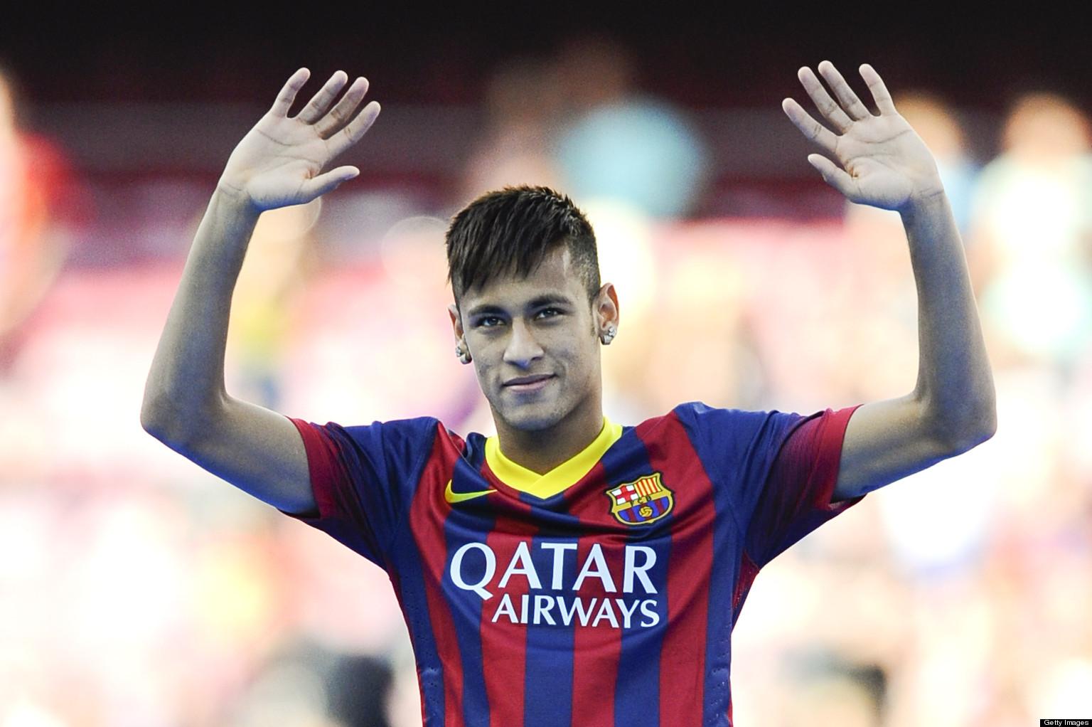 Neymar Barcelona 2013Neymar 2014 Hairstyle