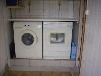 Werkblad over wasmachine