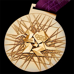 gold olympic medal london 2012