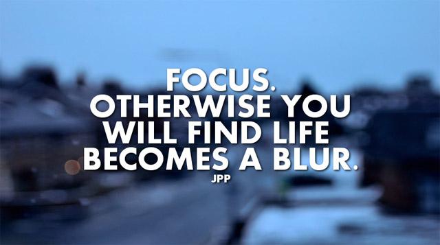 Motivational Quotes : Focus- Kshitij Yelkar