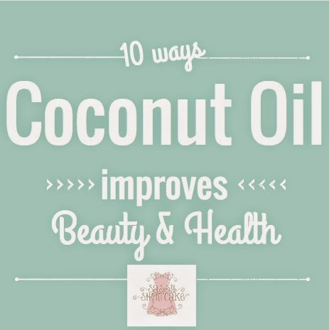 10 Ways Coconut Oil Improves Beauty and Health #ontheblog #sassystyle blog.sassyshortcake.com
