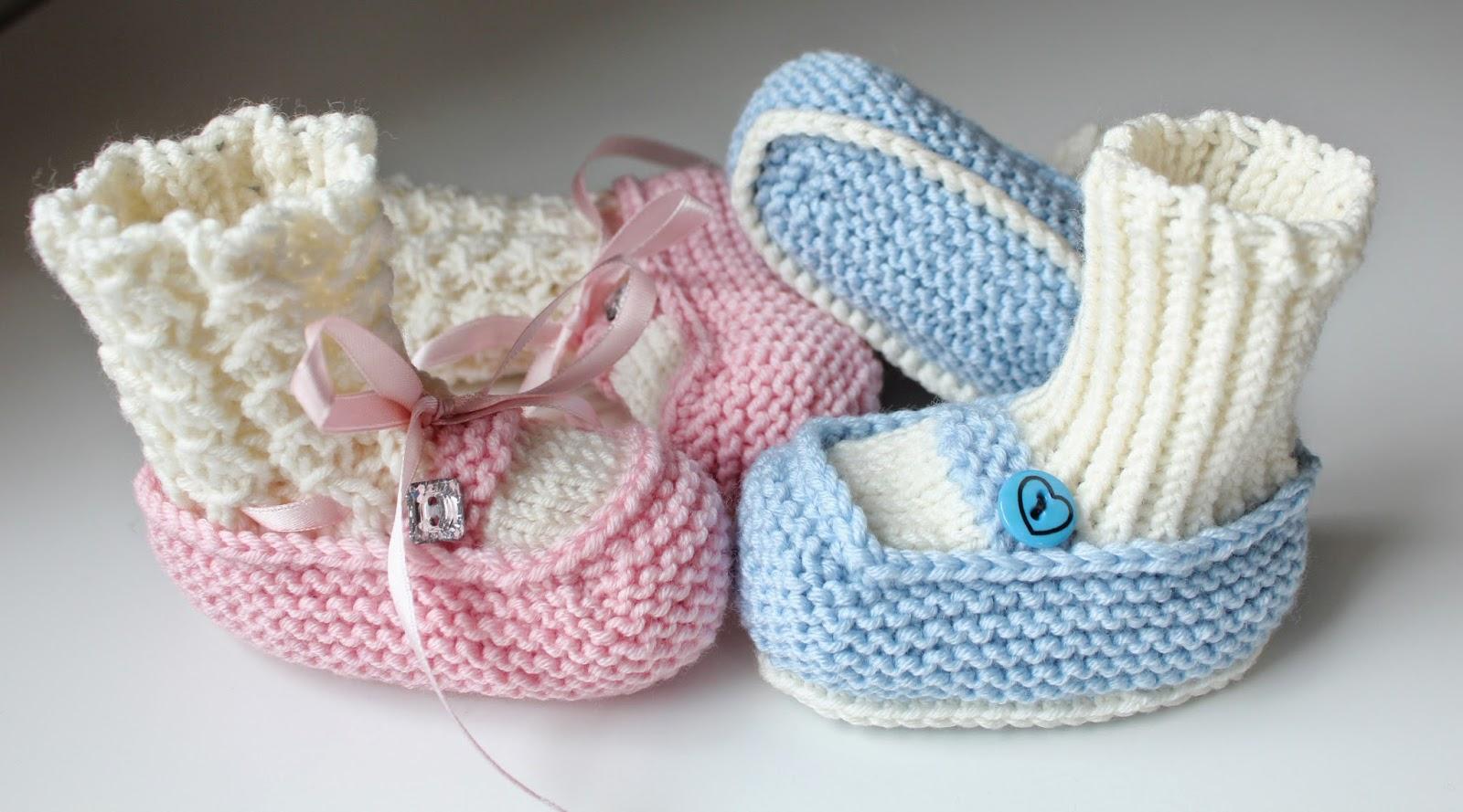 Babybooties - Jente og Gutt