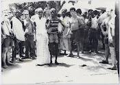Casamento africano em junho de 1973.
