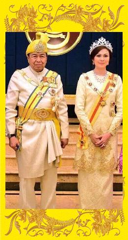 Sultan dan Tengku Permaisuri Selangor Darul Ehsan.