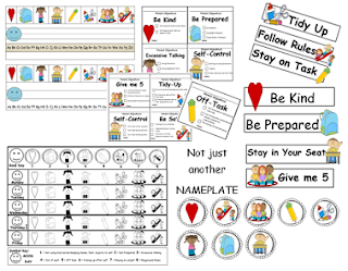 http://www.teacherspayteachers.com/Product/Classroom-Management-Nameplate-Behavior-Chart-980043