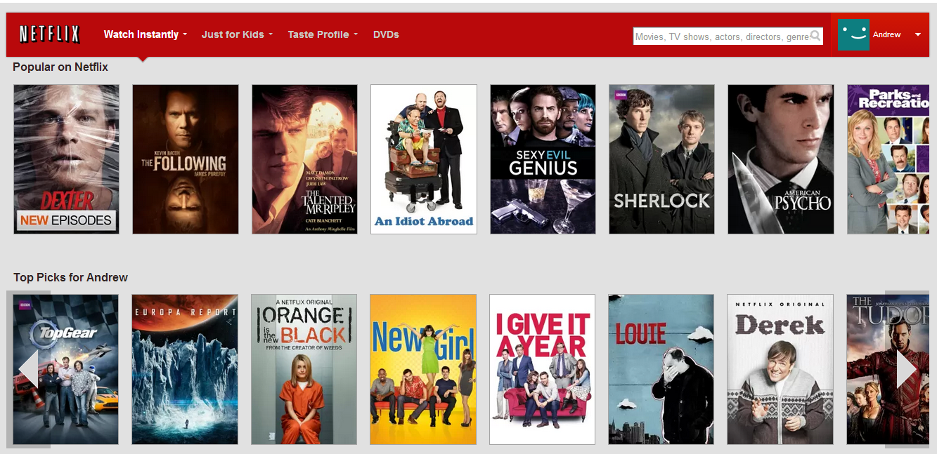 how to delete a profile from netflix