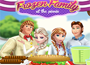 juego Frozen Family at the Picnic