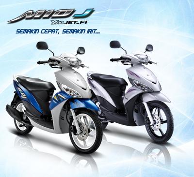Motor Matic Injeksi Irit Harga Murah Yamaha Mio J