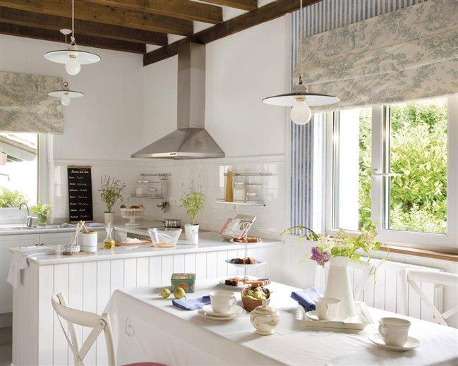 Decotips c mo ganar metros en la cocina y ubicar un for Cocina office pequena