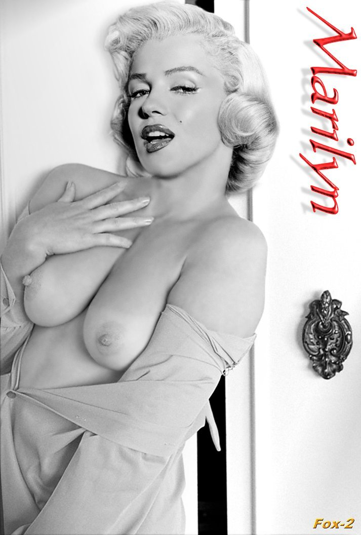 Marilyn monroe big tits naked fakes question interesting