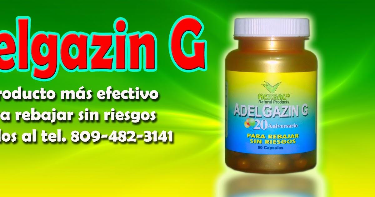 Adelgazin G el más efectivo para rebajar sin dietas ni