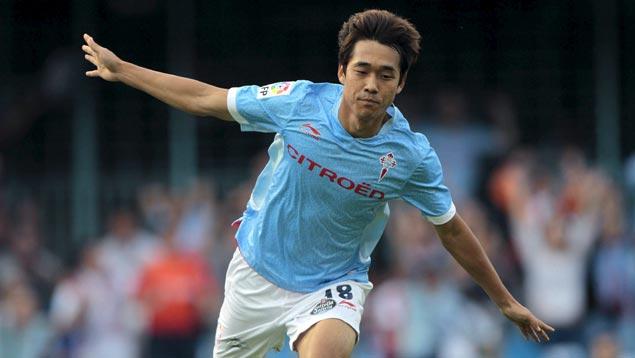 Park Chu-young con el Celta de Vigo