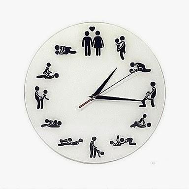 Reloj Posturas Sexo
