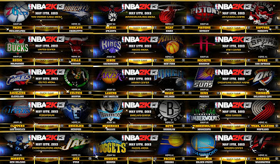 NBA 2K13 ESPN 3D Team Logos Mod