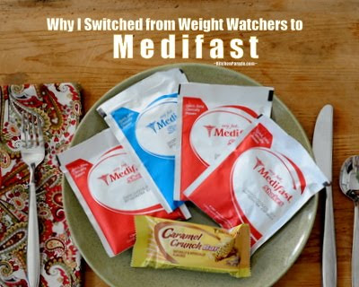 Why I Switched to Medifast from Weight Watchers