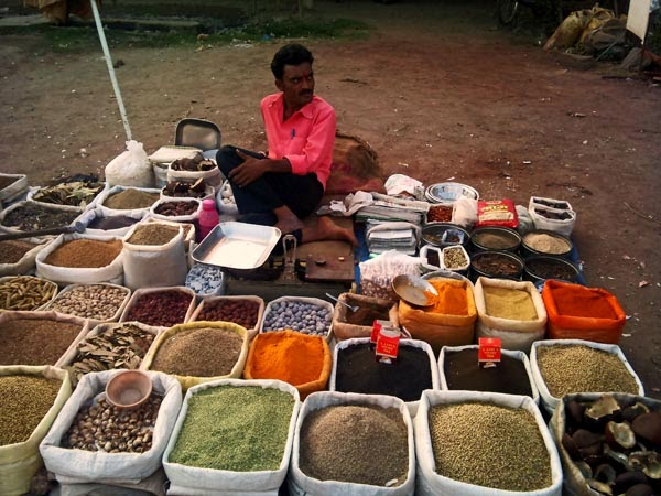 variety of spices for sale