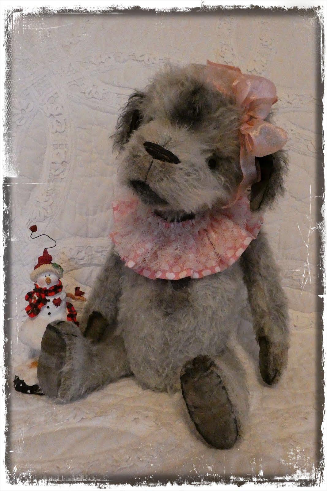 Pipsqueak, a mohair pup.