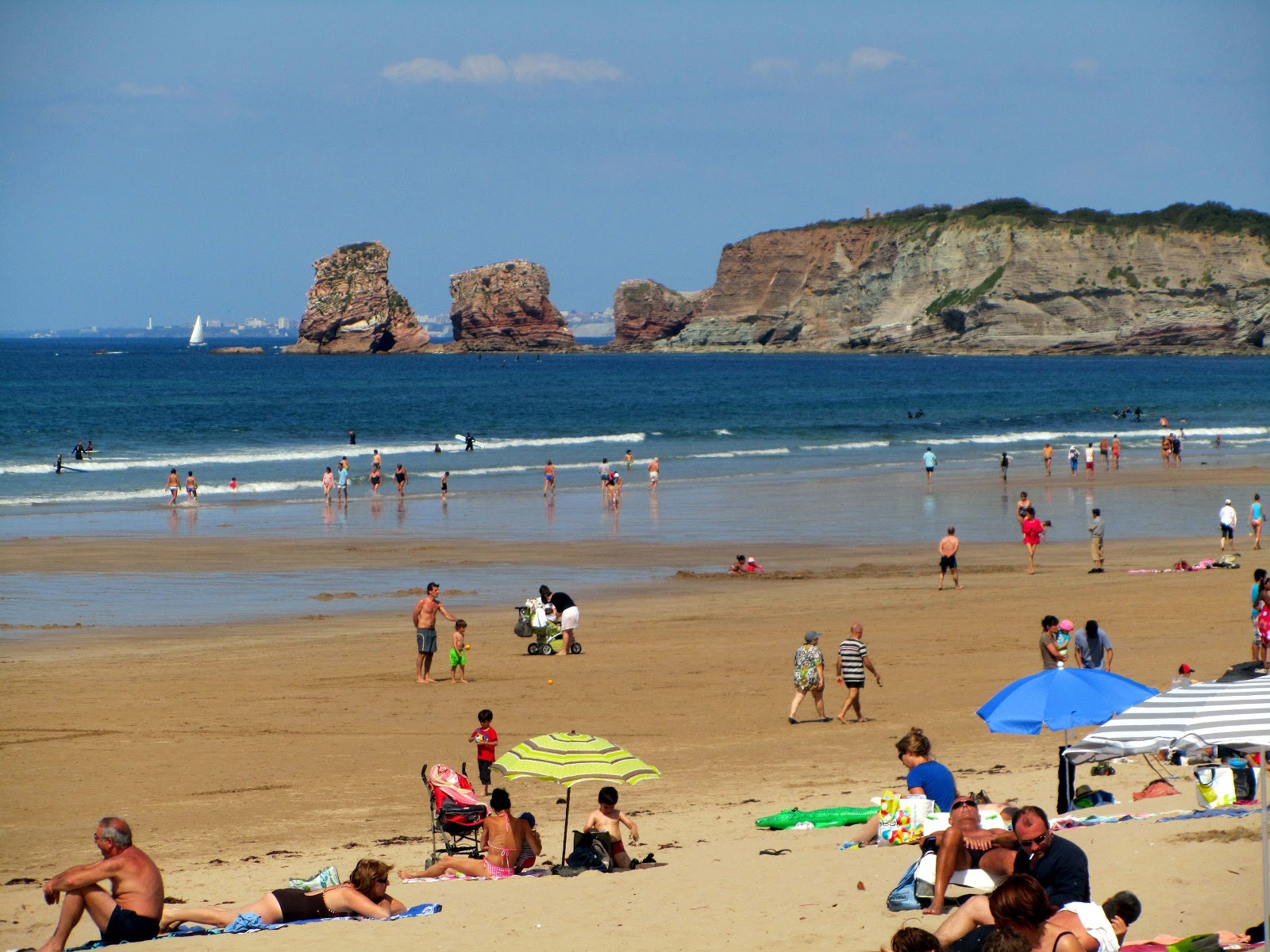 Restaurants and food hendaye a beautiful place at the for Hendaye france