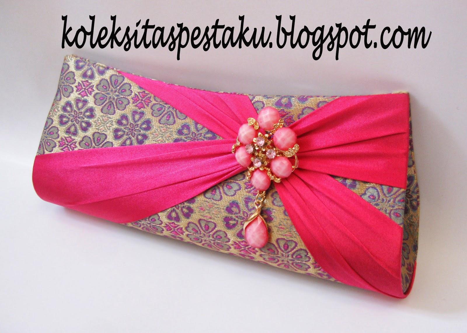 Pink Fanta Tas Dompet Pesta Cantik Elegant Unik