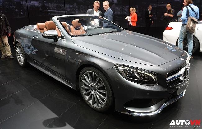Mercedes S-Class mui trần