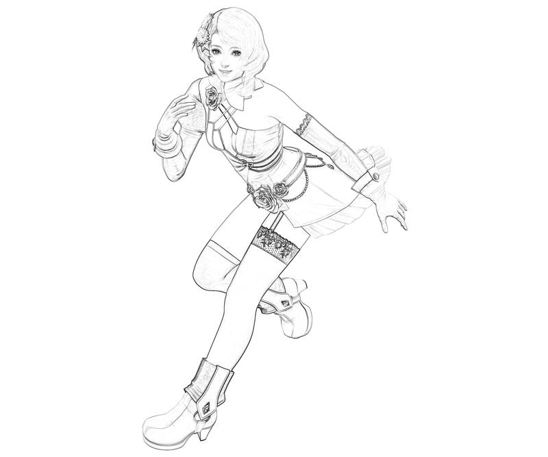 tekken-alisa-bosconovitch-abilities-coloring-pages