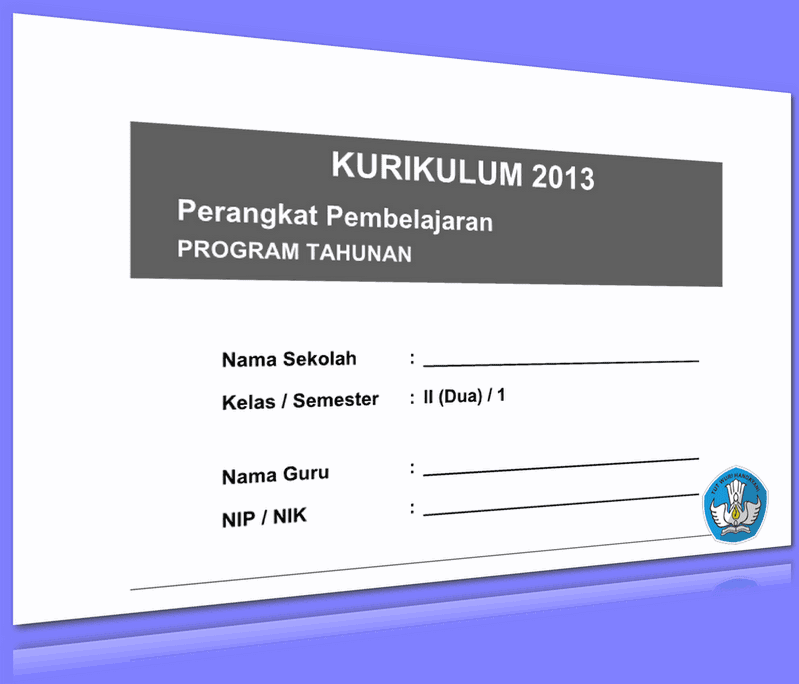 PROGRAM TAHUNAN KURIKULUM 2013 KELAS 2  UPDATE 2016
